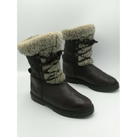 Pajar Made in Canada Real Sheepskin Lined Boots